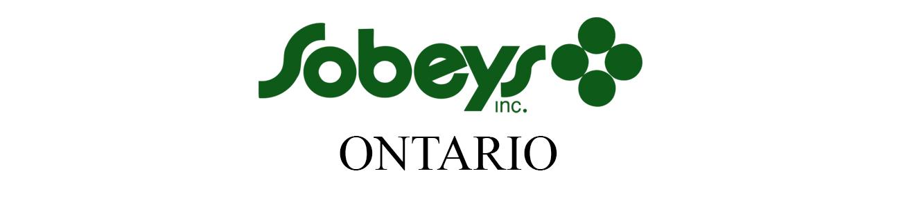 Sobeys Ontario Weekly Flyers