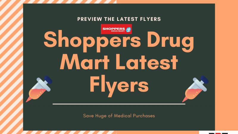 Shoppers Drug Mart Flyers January 2021 Latest Deals Live✔️