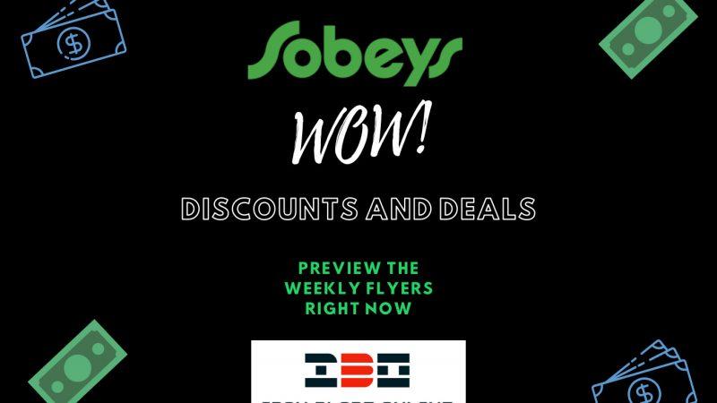 Sobeys Flyer (ON,Atlantic, West, Urban) January 2021 Latest Deals Live✔️