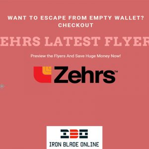 Zehrs Flyers (All Canada) January 2021 Latest Deals Live✔️