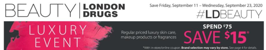 London Drugs Luxury Event